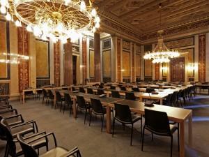 Im Lokal VI des Parlaments finden die Untersuchungsausschüsse statt