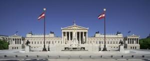 Fassade des Parlamentsgebäudes